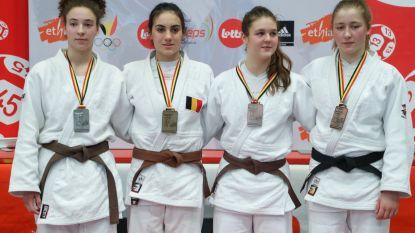 Judoclub uit Hamme heeft Belgische kampioen en vice-kampioen in de rangen