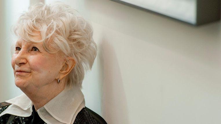 De cabaretière stierf op 84-jarige leeftijd in een verzorgingstehuis in Amsterdam. Beeld anp