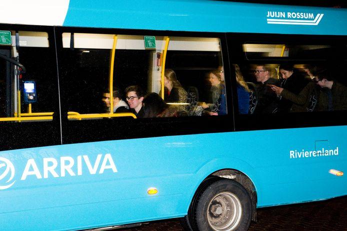 Bussen van Arriva in Kesteren