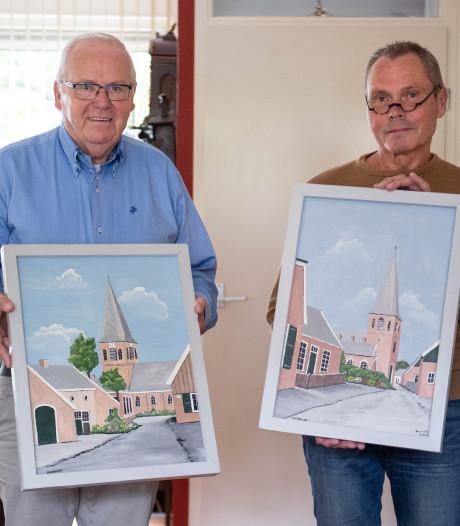 Bornenaar die honderden schilderijen achterliet krijgt postuum tentoonstelling: 'Elk papier werd benut'