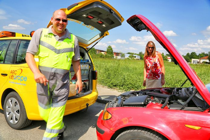 De Duitse wegenwacht hielp vorig jaar ruim 3,8 miljoen mensen met autopech.