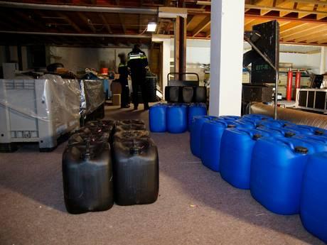 Drugsafval gevonden in Ambt Delden
