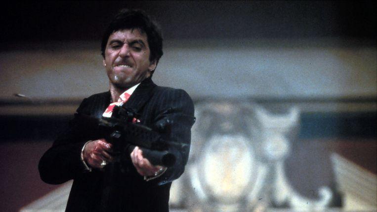 Al Pacino als Tony Montana in Scarface. Beeld ANP Kippa