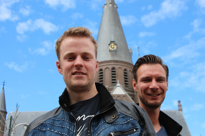 Alex Jongens en Erik Scherpenisse van de organisatie van Steenbergen Live!