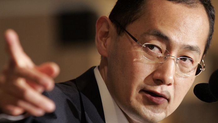 Nobelprijswinnaar Shinya Yamanaka.