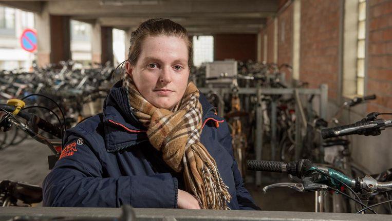 De fiets van Sharina werd gestolen in Zottegem.