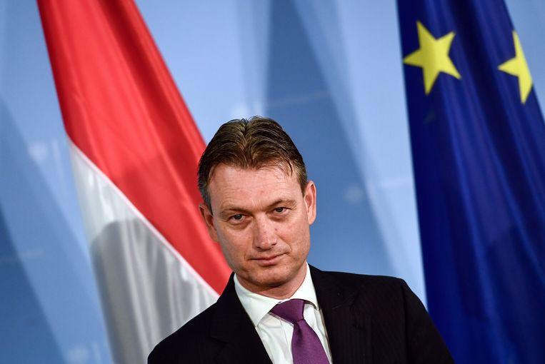 Minister van Buitenlandse Zaken Halbe Zijlstra. Beeld epa