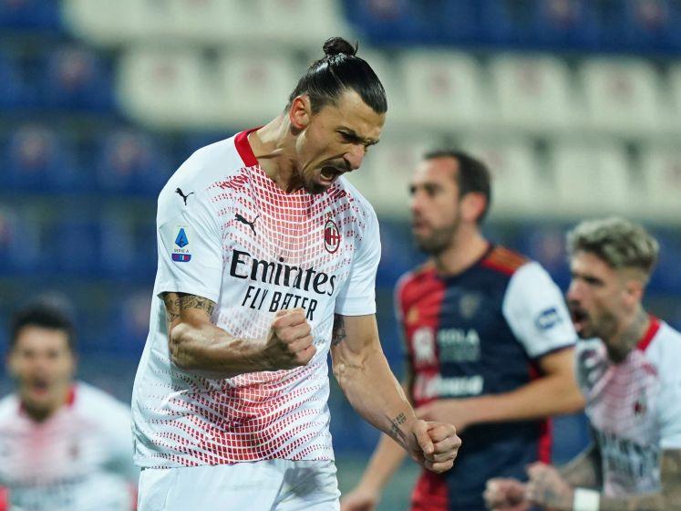 Ibrahimovic opnieuw de grote man bij Milan