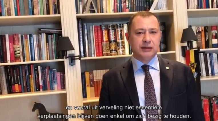 Reekmans doet opnieuw oproep naar de inwoners van Glabbeek: volg de maatregelen!