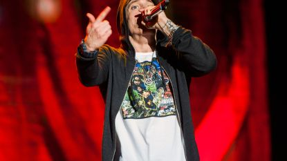 """Eminem bijt terug na kritiek over geweerschoten tijdens concert: """"Wie snel bang is, hoort hier niet thuis"""""""