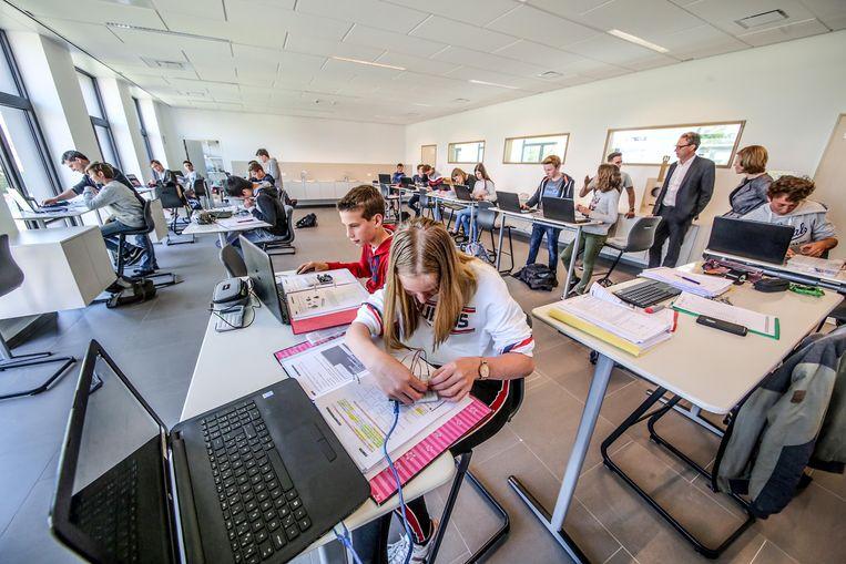 Secundaire school Spes Nostra in Kuurne organiseert op dinsdag 12 februari een eigen klimaatmars.