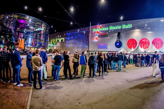 De Heineken Music Hall die inmiddels 'AFAS Live' heet.