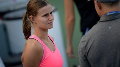 Greet Minnen uitgeschakeld in enkelspel WTA Hiroshima, maar stoot wel door in dubbelspel