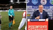 Komische taferelen in Eredivisie: Belg zet ref voor schut, debuterende Advocaat vergeet nederlaag met bitterballen