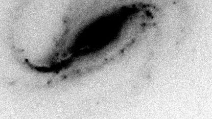 Amateur-astronoom test zelfgebouwde  telescoop en ziet iets wat geen enkele wetenschapper ooit al heeft gezien
