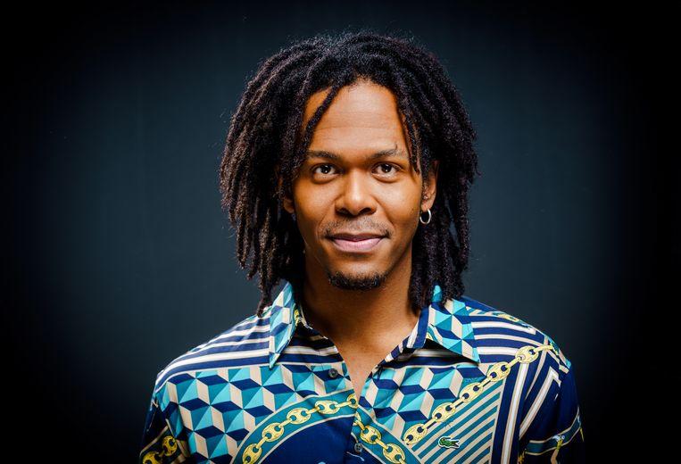 Jeangu Macrooy vertegenwoordigt Nederland dit jaar op het Eurovisie Songfestival, met het nummer Grow. Beeld ANP