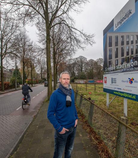 Lingedijk wil nieuwbouw in stijl, Waardevol Tiel denkt aan 'mars tegen de lelijkheid'