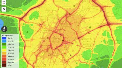 """Onderzoek naar luchtkwaliteit in Brussel: """"Tunnels zijn vergelijkbaar met moderne koolmijnen"""""""