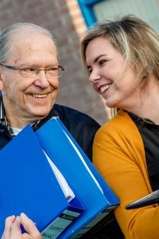 Opa en kleindochter hebben samen een bedrijf: 'We kunnen alles tegen elkaar zeggen'