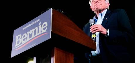Bernie Sanders stapt uit race en steunt Joe Biden: 'Gevaarlijkste president uit de geschiedenis moet weg'