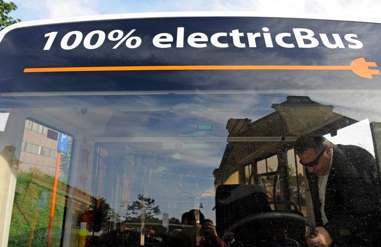 Het proefproject met de elektrische bus komt misschien toch nog naar Gent.