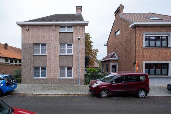 Het 'doorstroomhuis' van Lieve Coeckelbergh.