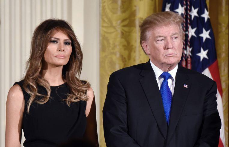 Volgens Melania Trump staat het boek vol valse verhalen.