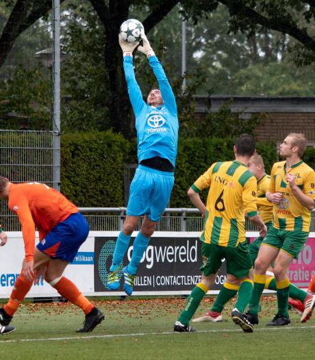 VOAB en Rijen delen de punten in doelpuntrijk duel