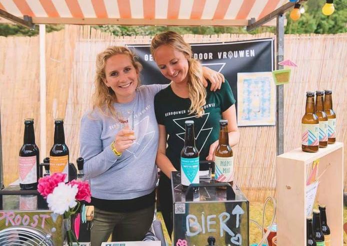 Tessel (29) en Do (31) de Heij begonnen hun eigen biermerk.