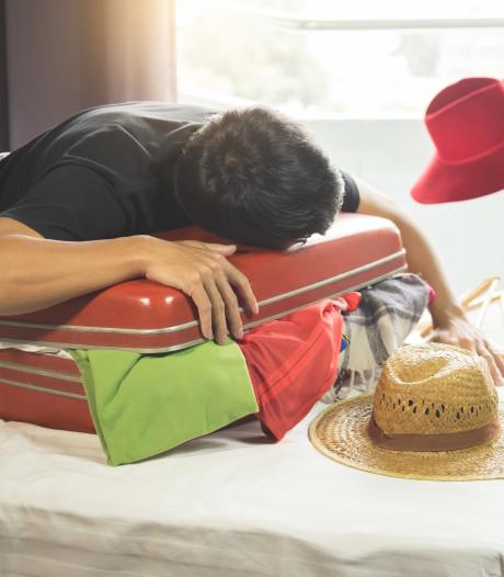 Voorkom vakantiestress: pak je koffer zo laat mogelijk