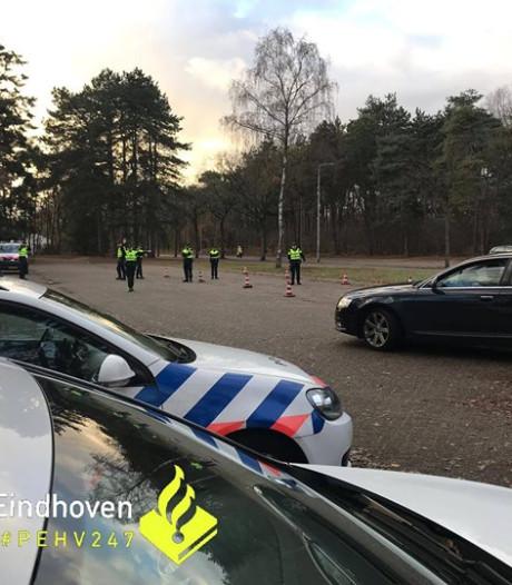 Zes mensen opgepakt en bijna veertig automobilisten bekeurd bij grote controle in Eindhoven