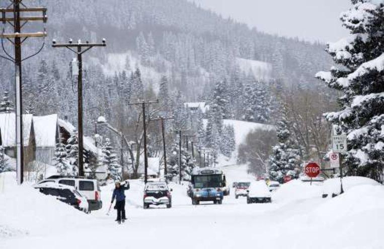 Canada en het noorden van Amerika hebben veel last van het winterweer.