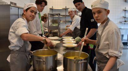 Talentenschool organiseert culinaire wedstrijd voor hotelscholen