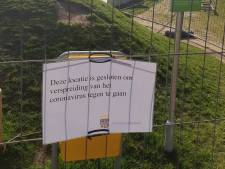 Gemeente sluit skatepark Nuenen, bezoekers hielden zich niet aan anderhalve meter afstand