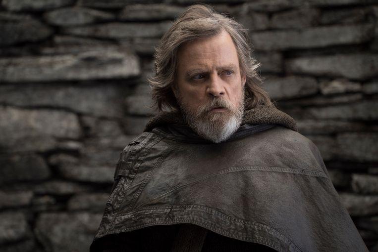 Mark Hamill als Luke Skywalker in 'Star Wars: The Last Jedi'.
