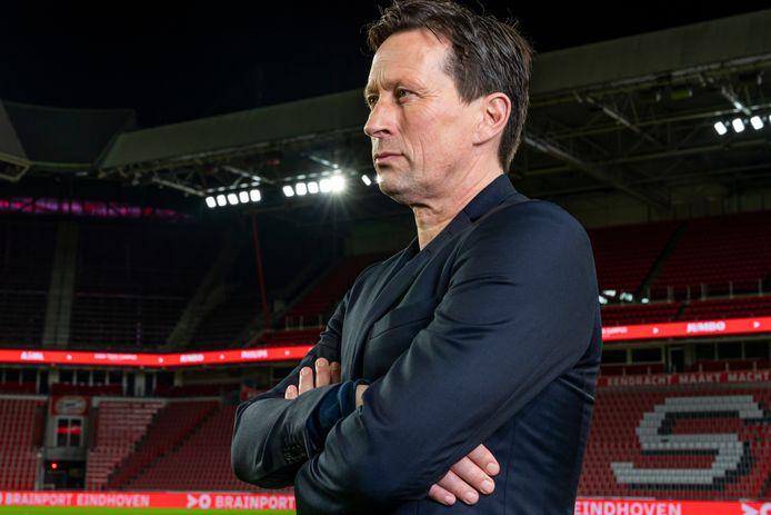 Roger Schmidt, de nieuwe coach van PSV.