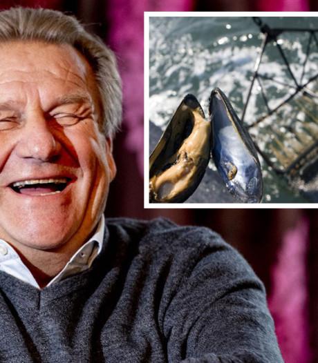 Jan Boskamp schiet 50 vrachtwagens vol Zeeuwse mossels weg: Mosselkaravaan is herboren