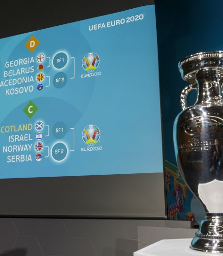 Euro 2020: les barrages pour les quatre derniers tickets sont connus