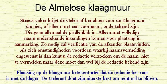 Screenshot gedeelte www.gelereaaf.nl/klaagmuur
