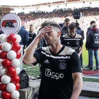 AZ – Ajax (1-0) was een wedstrijd van prachtige jubel, strijd en dodelijke vermoeidheid
