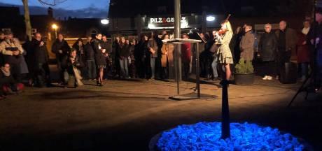 Herdenking Holocaust gevangen in namen en stenen