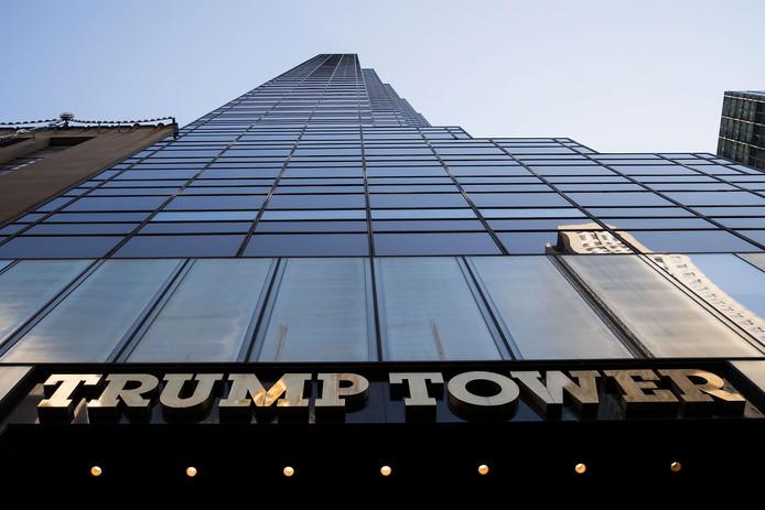 De Trump Tower in New York.