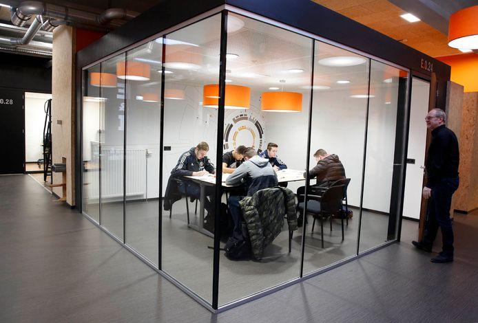 Studieplek in Centrum voor Toptechniek (CTT) in Terneuzen.