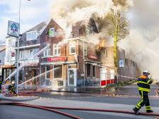 Kwalitaria Tra in Goirle deels verwoest door zeer grote brand