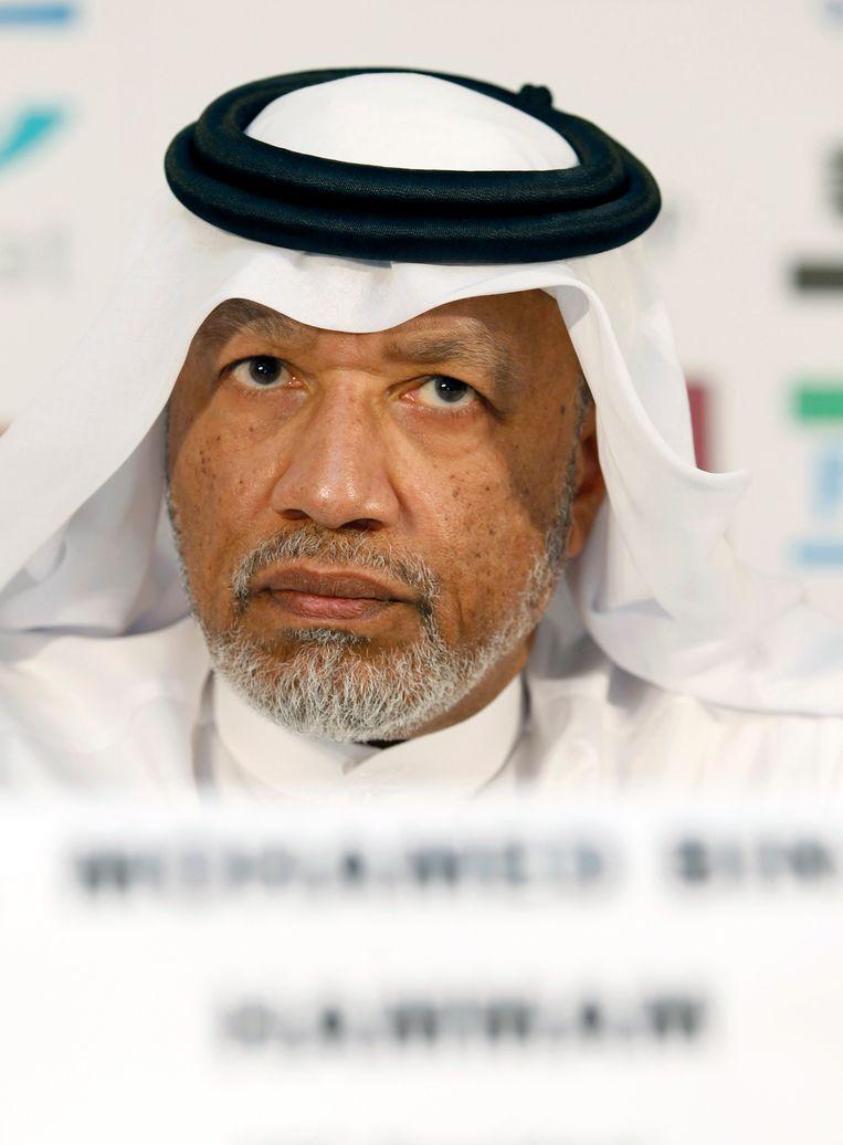 De steekpenningen zouden afkomstig zijn van een bedrijf waar Mohammed bin Hammam de plak zwaait Beeld reuters