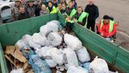 70 vrijwilligers steken handen uit de mouwen op slotdag van zwerfvuilactie