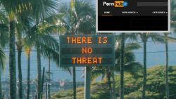 Verlossend bericht na raketblunder Hawaï  leidt tot bezoekerspiek op Pornhub