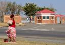 Het huis van Mandela in Qunu, waar hij ook is begraven.