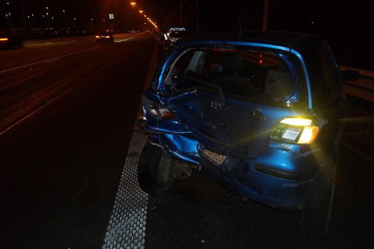 Bestuurder gewond na ongeval op e17 nazareth regio hln for Dujardin kortrijk