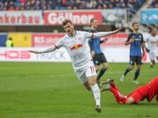 Schreuder verspeelt in slotminuten twee punten, Leipzig naar koppositie